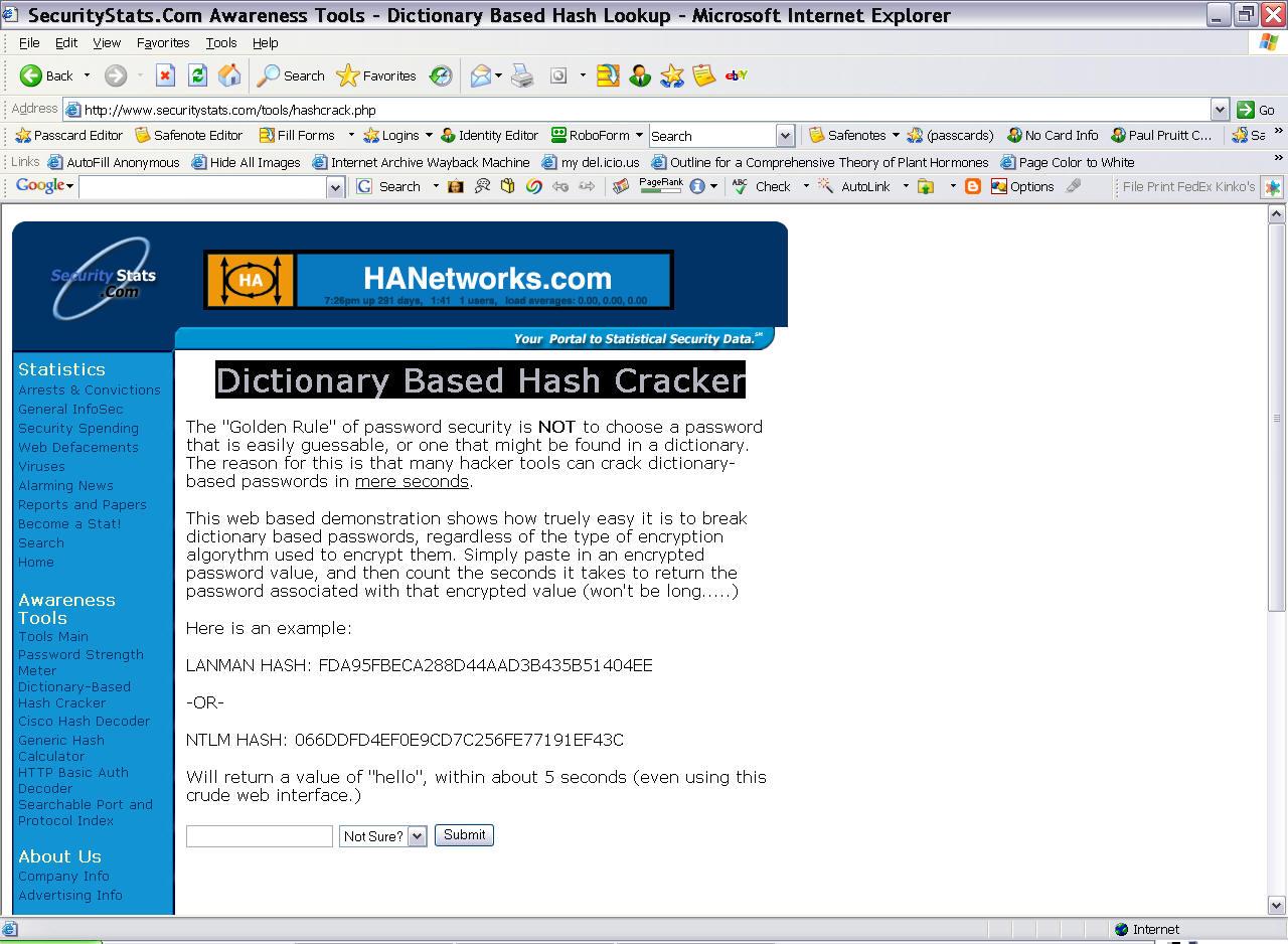 Windows NT-2003 Password Recovery
